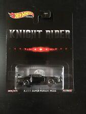 2020 Hot Wheels Knight Rider K.I.T.T Super Pursuit Mode W/ Real Riders