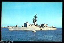USS Stein FF-1065 postcard US Navy warship Knox class fast frigate (card1)