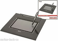 NEW TRUST SKETCH DESIGN SLIMLINE A5 PC GRAPHICS TABLET WITH WIRELESS PEN