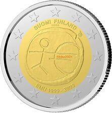 2 EURO COMMEMORATIVO FINLANDIA 2009 EMU 10° Anniversario