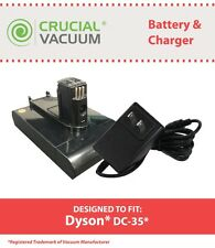 Dyson DC31 & DC35 22.2V Li-ion 1500mAh Battery & Charger, Part # 917083-01