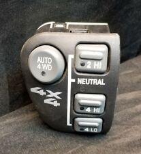 98-04 Chevy Blazer Bravada GMC Sonoma Jimmy S10 AUTO 4x4 4WD Switch OEM