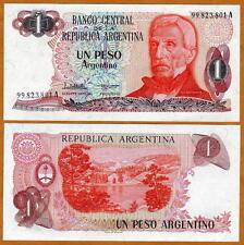 Argentina, 1 Peso Argentino, ND (1983 - 1985) Pick 311,UNC