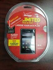 BRAND NEW SEALED -LG Optimus Zone -Android Smartphone - Prepaid Verizon Wireless