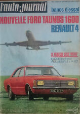 L'AUTO JOURNAL 1971 2 FORD TAUNUS 1600 RENAULT 4 LUXE 1000KM DE BUENOS AIRES R16