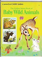 The Golden Stamp Book of Baby Wild Animals-Feodor Rojankovsky-R. Ruhman-1971