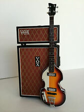 Beatles Paul McCartney Hofner Bass & Vintage 1967 Vx Bass Stack Amp Mini Model