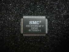 (5)SMC FDC37C651QFP 0.5Mbps IDE Compatible Floppy Disk Drive Controller PQFP-100
