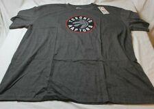 Toronto Raptors NBA Heather Gray Men's T-Shirt by Majestic Big & Tall Size 3XL