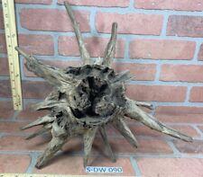 Malaysian Driftwood Piece Aquarium Terrarium Reptile Orchid And Fish Pet Supply