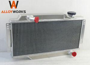 2 Row Aluminium Radiator For Triumph Spitfire MARK III IV 1500 1964-1980