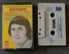 Les plus grands succés de Adamo par the King - cover,   K7 audio / Audio tape