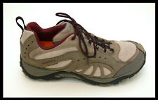 NEW MERRELL Womens Siren Song Leather Dark Taupe Hiking Shoes Vibram Soles Sz 8
