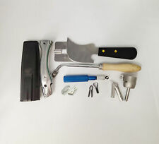 Multi Hand Groover With Crescent Moon Knife Weld Nozzle PVC Vinyl Floor Weld Kit