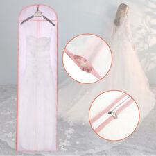 Dust-proof Cover Bridal Garment Gown Storage Bag 70'' Long Wedding Evening Dress