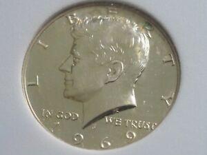 1969 S  KENEDY HALF DOLLAR  SILVER PROF SGS PR 70  Coins