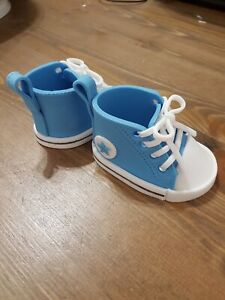 Edible Converse Allstar Style Baby Shoe Cake Topper Decorations