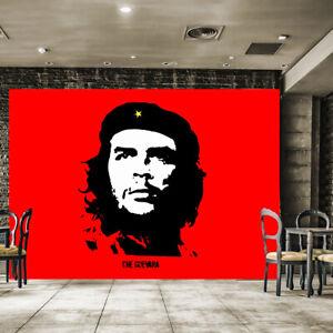 Fototapete Vlies und Papier Tapete Kuba Che Guevara Rebel Sozialismus Revolutio