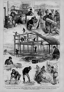 JAPANESE BUILDINGS ON THE 1876 PHILADELPHIA CENTENNIAL GROUNDS IN FAIRMOUNT PARK