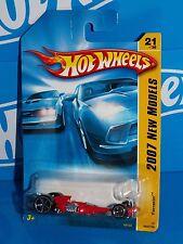 Hot Wheels 2007 New Models #21 Ferracin' (Nitro Scorcher) Red w Ferracin' Base