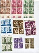 VATICAN MNH Lot BLOCKS x4 400 Stamps