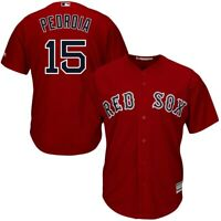 Dustin Pedroia #15 Boston Red Sox Red Classic Baseball Jersey