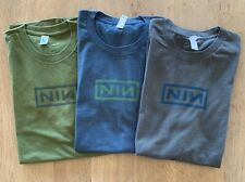Nine Inch Nails '09 Wave Goodbye LA (Echoplex, Palladium, Fonda) event tees 3 PK
