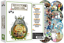 New listing Hayao Miyazaki Studio Ghibli Special Edition Collection 25-Movies Dvd Box Set