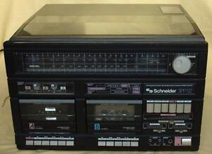 Schneider SPP 112  Stereoanlage Rarität  Bitte Nur Abholung
