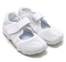 Nike Air Rift BR Triple White Sandals Sneakers Trainers Beach Gym UK 6.5 EU 40.5