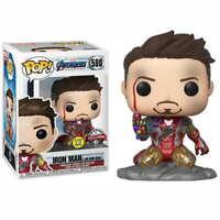 Figura Funko POP I Am Iron Man 580 Marvel Vengadores Endgame GITD Special Editio