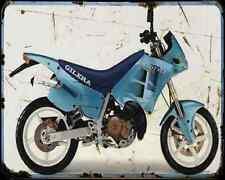 GILERA Freestyle 125 91 A4 metal sign moto Vintage Aged