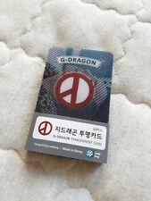 G-DRAGON GD BIG BANG GDRAGON BIGBANG VERY SEXY COLLECTION TRANSPARENT CARD 25PCS