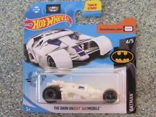Hot Wheels 2019 #153/250 THE DARK KNIGHT BATMOBILE dark white Batman @N