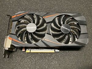 GIGABYTE GeForce GTX 1060 Windforce OC 3gb Video Card Gaming graphic card GPU
