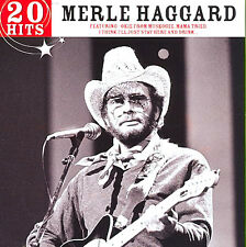 Merle Haggard ~ 20 Hits NEW SEALED CD Okie from Muskogee / Country Music