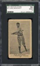 1917 Boston Store Dave Bancroft #12 SGC 30 Good 2