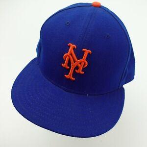 New York Mets New Era Ball Cap Hat Fitted 7 5/8 Baseball