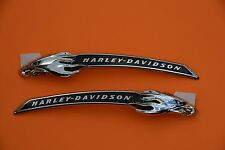 HARLEY CVO NEW TANK MEDALLIONS EMBLEMS NAME PLATES TOURING SOFTAIL DYNA