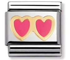 Nomination Charm Double Pink RRP £22