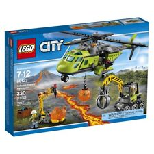 LEGO City (60123) Volcano Exploration Rescue Helicopter (Brand New & Sealed) A