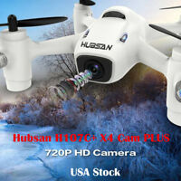 Hubsan H107C+ 2.4GHz 4 Channels Drone Mini RC Quadcopter With 720P HD Camera USA