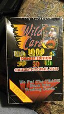 Factory Sealed Box 1991 WildCard Collegiate Football Cards - Brett Favre college