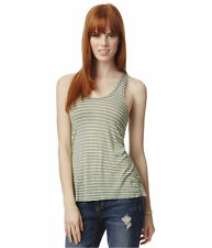Women's Juniors Striped Polyester Tank, Cami Tops & Blouses