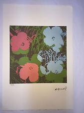 Andy Warhol Litografia 57 x 38 Arches France Timbro Secco Galleria Arte A011