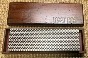 Vintage DMT Diamond Sharpening System, Stone in Wood Box