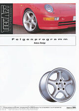 Prospekt 2 94 TechArt Felgen Programm Antera Design Porsche 993 964 928 968 1994