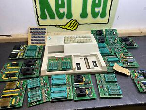 LLOYD RESEARCH LTD L9000 EPROM + EEPROM Programmer LCD DISPLAY VINTAGE + EXTRAS