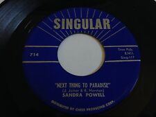 "Sandra Powell - Next Thing To Paradise / My Jimmie 7"" 45 RPM Vinyl"