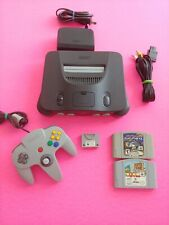 Nintendo 64 Console Bundle N64 ALL OEM - Controller - Games- Tested - Working 52